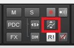 Der Offset-Button im Mischmodul der Hauptsteuerleiste